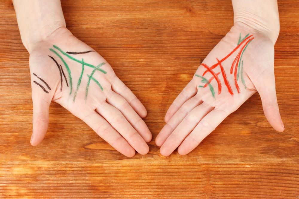 手相であなたの結婚相手の特徴が分かるって本当?簡単な結婚線の見方を教えます